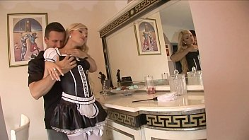 maid cleaning hotel Muscular has gay room