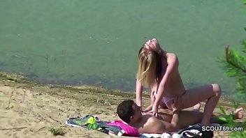 couple split beach Granny crazy masrturbates