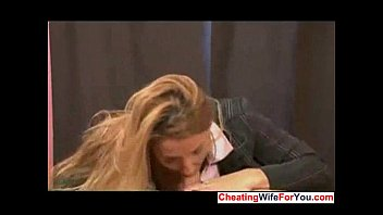 watch give a my handjob wife Public touch legs