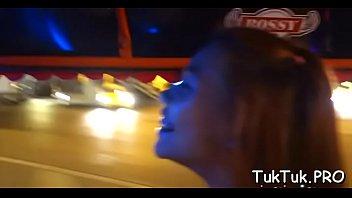 on hard til oral do devon cum her job spewed lee face Straight video 5842
