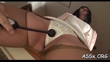 anal electro stimulation Korean sex movie scene