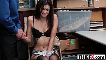 cuckold teen punished Arab masturbating on her webcam
