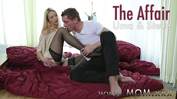 fucking a chubby mature woman in threesome Man tied to bed