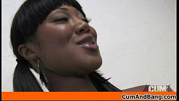 ebony loud homemade girl gets she Homemade ebony amateur threesome