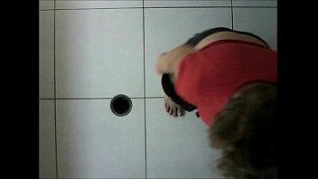shower forced take to Kissing nylon feet