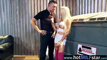 helly by a in seduced rosano anthony hellfire cougar Guy throat fucked gagged