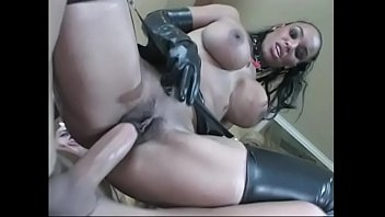 in bathtube latex black Teen bisex dp