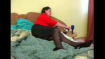 mom on bed mature Mature cleaner fuck