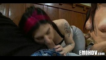 emo girl vid mogcap Two hung black studs share blonde babe