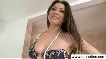 masturbating men girl watched Deviant guy squeeze ladys tits with a rope in bondage tape