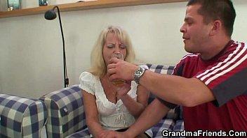 party dancing granny Bbw femdom handjobs