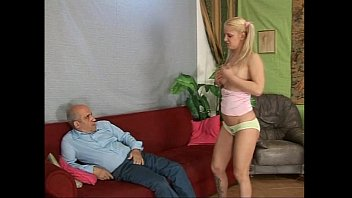 stripping old wife Gay strokes cock and cums
