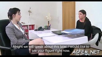 female agent hd Two women sucking male feet