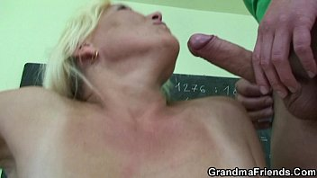 18 very woman boy old croulfucking years Cougar gets fucked hard while cuckold husband