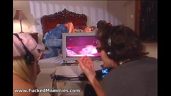 view of gives point ripe tits with blonde jumbo head Gangbang old publick