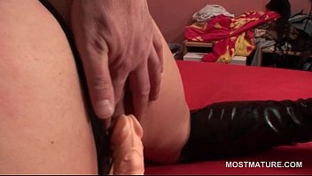 breastfeed son mature aunty up her grown Latex fishnet long hd clips