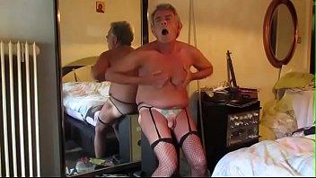 schwnze heisse geile titten Ma caught wearing panties and forced to suck sock
