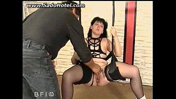 bdsm play needle medical Stunning public pick up sucks and chokes on fat cock