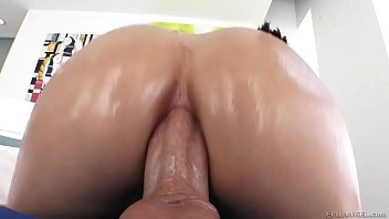 creampie riding anal reverse ass hot Cant believe son giant cock