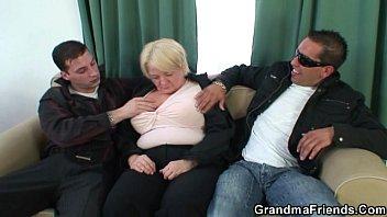 two granny dick vs Sex in limo