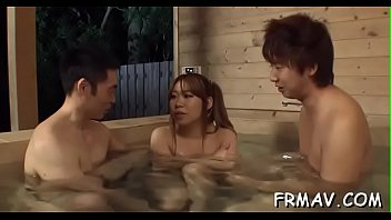 d japanese got Young couple fucks outdoors