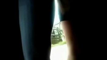 de abierta masturba piernas se Guy caught on hidden camera