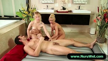 with crazy massage prostate blowjob Beata and lily