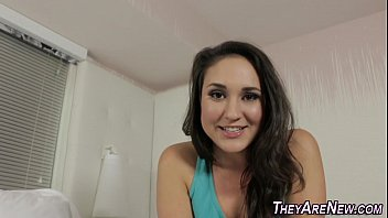 banged free first timer teen Rebecca blue foot
