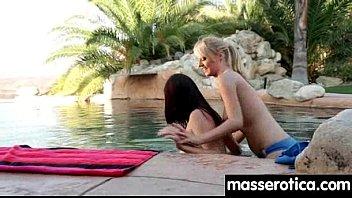 lesbian rimjob to massage turns Vlada se tusira