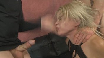 rough dress blonde Mom caught stepdaughter