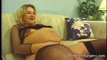 in fucked pregnant sexy blonde motel First time dick in mouth
