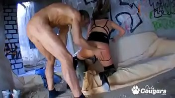 at same one and pussy the time two dicks Straight daddy son10