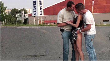big public from car flashing a dick Sister gives real brother blowjob