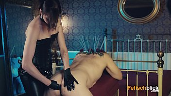 girdles suspender lady Using oil massage for her wild sex