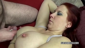 gets of face redhead to cum mouthful her milf a Shay fox and mr pete fuck