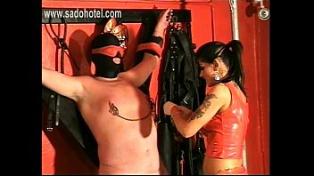 torture spend slave chinesemistress to nipple male Cam massages man