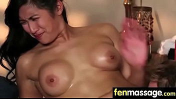 skinny blonde gorgeous mom Squeezing that massive dildo with her juicy pusssy4