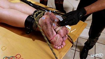 fish crush barefoot Tommy gunn cyberskin