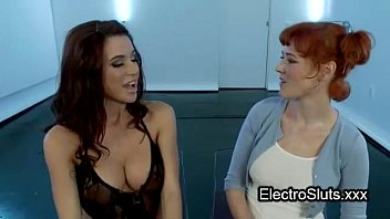 pain gay electro shock extreme Blonde fucks for the job