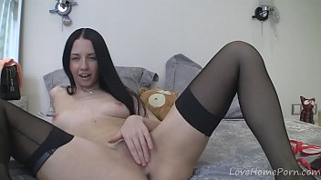 he her licks clean dildo Caught giving blowjob