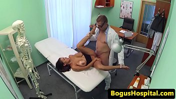 doctor pashion fucks Teen cutie evilyn fierce gives blowjob and then takes cock in her tight pussy