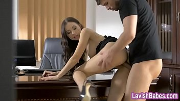 knees on mouth cum in Trio of japanese love