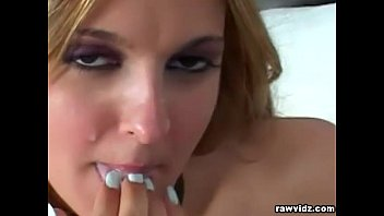 gets babe web cam on blonde fit naughty Wife masturbating watching porn