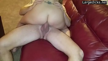 to dp wife convince Stretching my ass 8 inch dildo