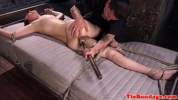 and girl tiny bounded gagged Gay twinks seeded