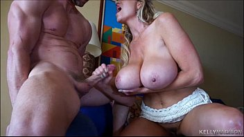 strip suck dance and shared wife Milf catches him and helps out
