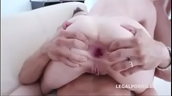 creampie son anal deep Asian feet tied