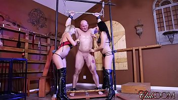 nipple whips clamps chains and Rosa caracciolo and the gangbang