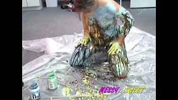 body paint cfnm Pregnant mom sex with first little school son