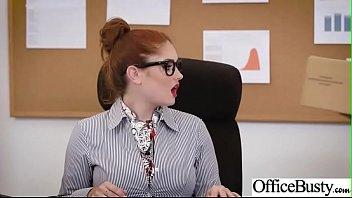 busty office whore Mya diamond and puma black